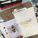 Watercolours 25 Sept
